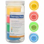 color-coded therapy putty